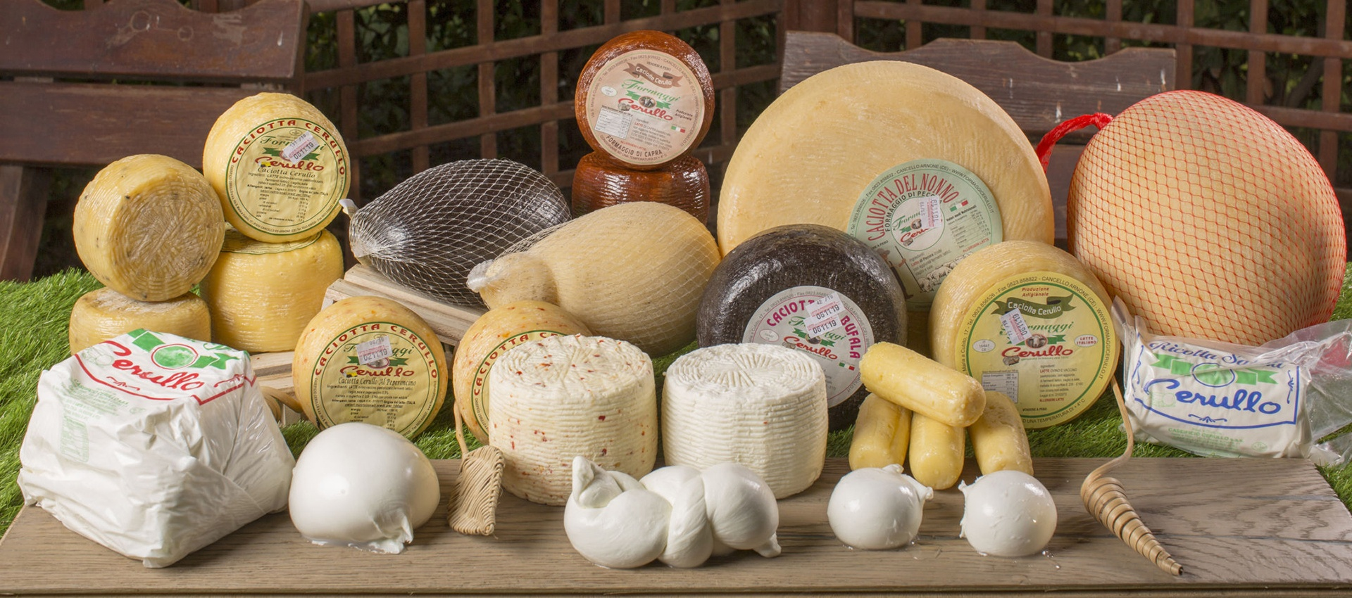 Produzione ingrosso formaggi